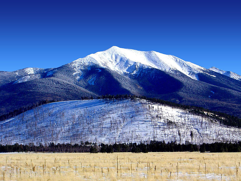 San_Francisco_Peaks, Credit: USDA Forest Service, Coconino National Forest. articles.waterdesalinationplants.com